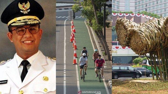 Sederet Proyek di DKI Jakarta Dibongkar Padahal Belum Lama Dibangun di Era Gubernur Anies Baswedan