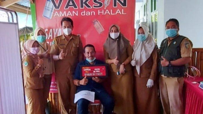Ketua DPRD Bolmut Ajak Masyarakat Ikut Vaksinasi, Saiful Ambarak: Tetap Patuhi Protokol Kesehatan