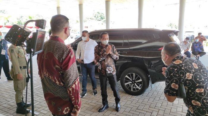 Sejumlah bupati wali kota di Sulut dan Gorontalo telah berada di Yama Resort Tondano, Minahasa. Mereka menghadiri RUPS Bank SulutGo