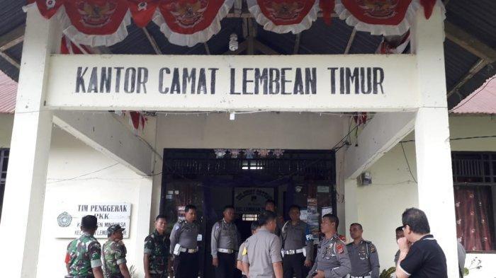 Wakapolres Minahasa Kompol Alkat Karouw Lakukan Pengecekan Lokasi Rapat Pleno PPK