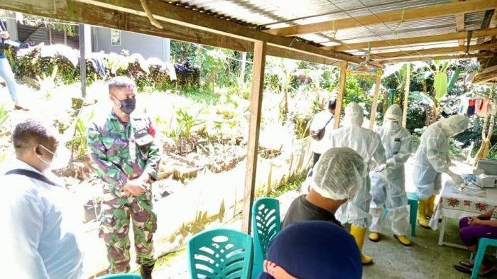 64 Anggota Keluarga Karyawan Megaria Supermarket yang Terpapar Covid-19 Diswab