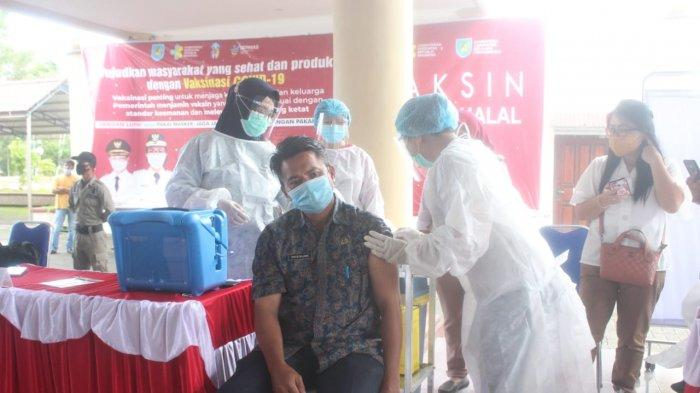 Hingga saat ini Penerima Vaksinasi Covid-19 Tahap Dua Bolmong Sebanyak 437