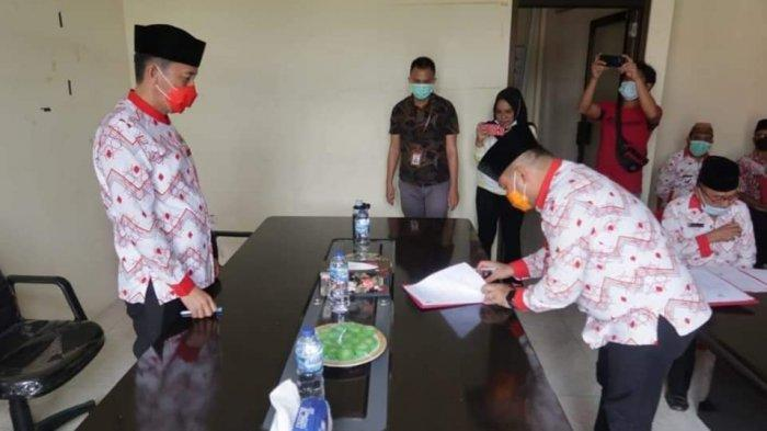 Sekda dan Pimpinan OPD di Bolsel Tandatangani Pakta Integritas dan PK