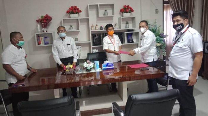 Bob Wuaten Ditunjuk jadi Pjs Dirut PDAM Sitaro Gantikan Bambang Sudjono