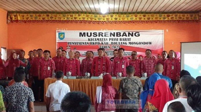 Sekda Kabupaten Ini Buka Musrenbang Tingkat Kecamatan