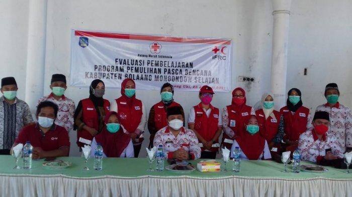 Sekda Marzanzius Ohy Apresiasi PMI karena Berperan Aktif dalam Pemulihan Pasca-Bencana di Bolsel