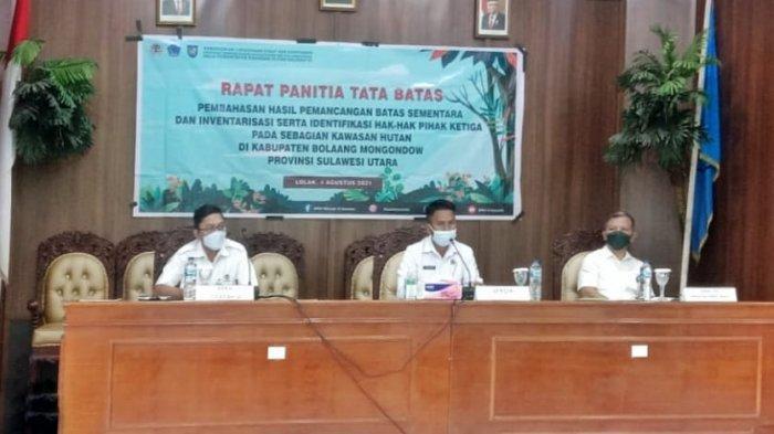 Pemkab Bolmong dan BPKH Bahas Tata Batas Hutan