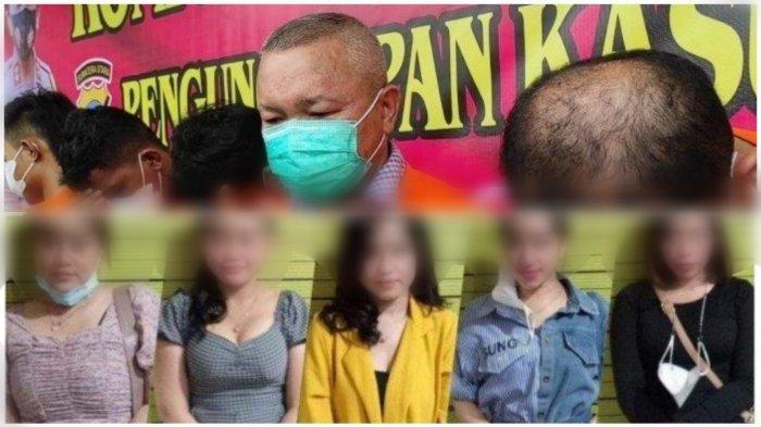 Ditemani 5 Wanita Cantik, Sekretaris Daerah Bersama Pejabat Lainnya Ditangkap saat Pesta Narkoba