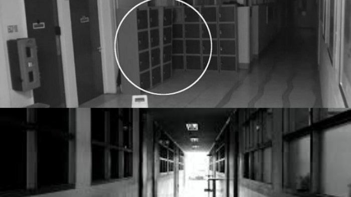 Foto : Ilustrasi bangunan berhantu
