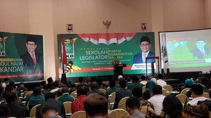 Gus Halim Buka Sekolah Legislator PKB di Manado, Sentil Peran NU demi Keutuhan Bangsa
