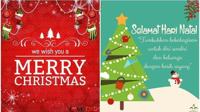 Kumpulan Gambar Ucapan Selamat Natal 2020 Cocok Banget Dibagikan Di Facebook Instagram Whatsapp Tribun Manado