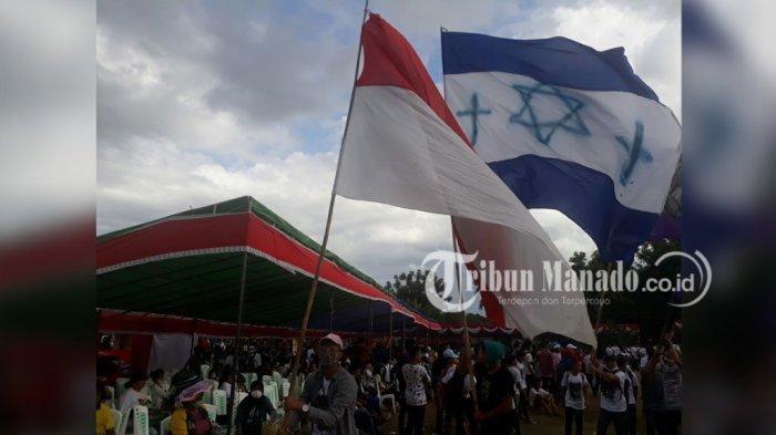 Warna Israel di Sulut: Lorong Israel, Sinagoge, Kaki Dian & Jenazah Ditutup Bendera Bintang Daud