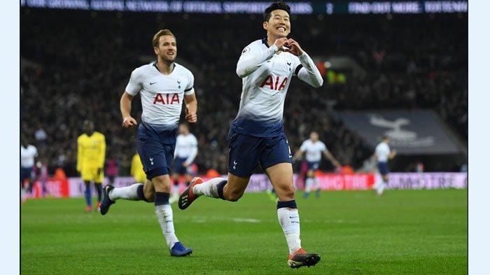Hasil Babak I - Berkah Mourinho, Tottenham 2 Gol West Ham 0