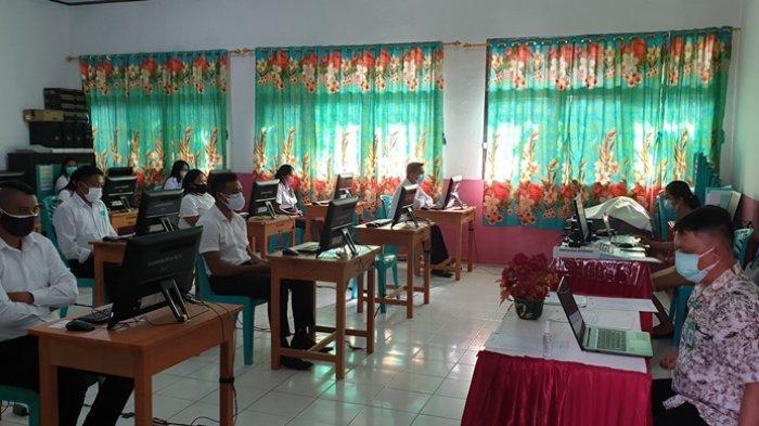 Satu Peserta Seleksi Calon PPPK Guru di Sitaro Positif Covid-19