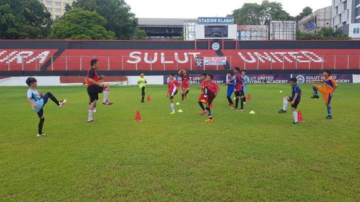 49 Pesepakbola Cilik Ikut Seleksi Sulut Football Academy
