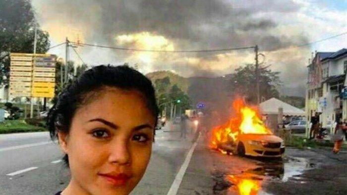 GILA! ini 9 Foto Selfie yang Bakal Bikin Kamu Emosi, No 4 Senyum di Depan Rumah Kebakaran