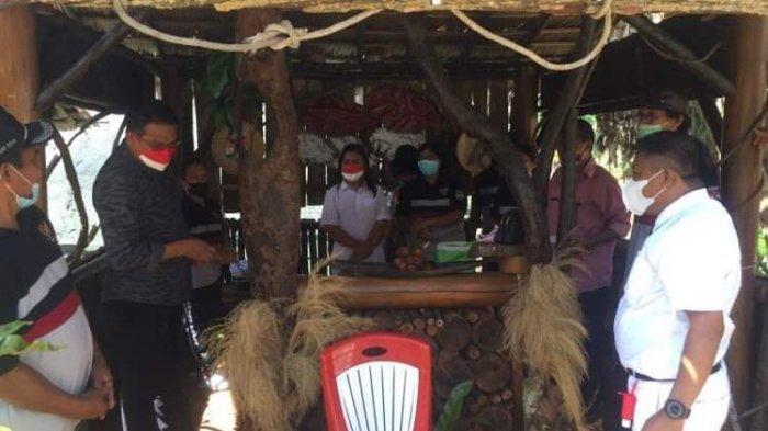 Pondok Merdeka Kecamatan Ratahan Diapresiasi Sekda Mitra