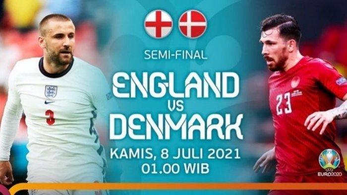Euro 2020 Inggris vs Denmark, Mampukah Danish Dynamite Bobol Gawang The Three Lions di Wembley?