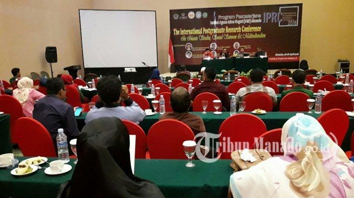 IAIN Manado Dukung Program Pemerintah dengan Seminar Internasional