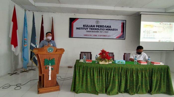 Beri Kuliah Umum, Senator SBANL Bekali Mahasiswa ITM Tomohon dengan Wawasan Kebangsaan