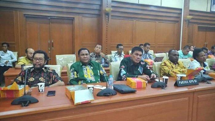 Senator Sulut Djafar Alkatiri Bahas Pansus Papua