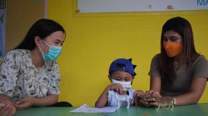 Berita Foto: Aktivitas Pembelajaran Tatap Muka di Rumah Singgah Kanker Anak di Manado