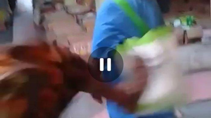 Seorang Nenek DitendangPriaLantaran Mengutil, Kepala Dusun Pasang Badan setelah Melihat Videonya
