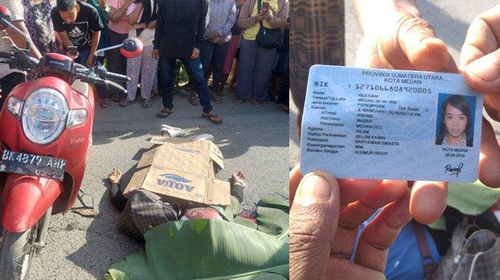 Kecelakaan Maut, Seorang Gadis Tewas Tergilas Truk, Motor Masuk Lubang saat Nyalip dari Jalur Kiri