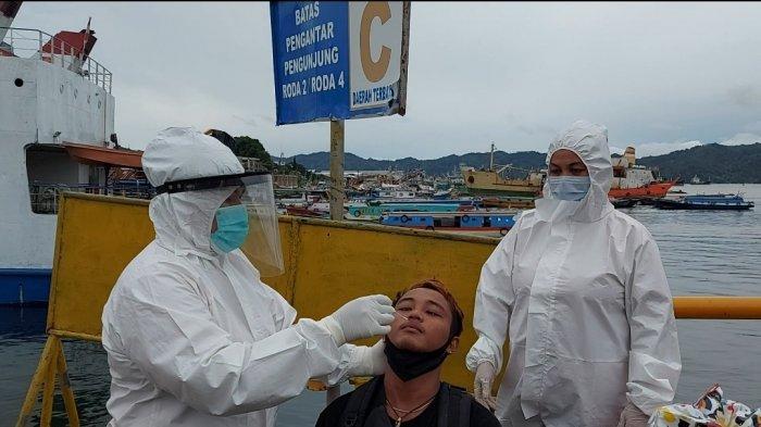 Satu Penumpang di Pelabuhan Bitung Kedapatan Tak Bawa Surat Keterangan Hasil Rapid Test Antigen