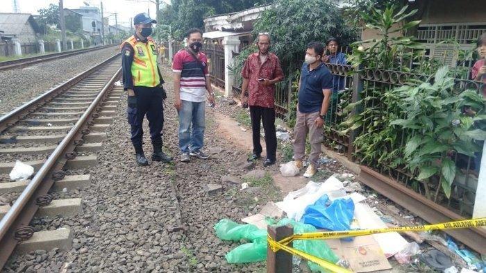 Kecelakaan Maut Tadi Subuh, Ibu Rumah Tangga Tewas Terserempet Kereta Api, Korban Terpental 10 Meter