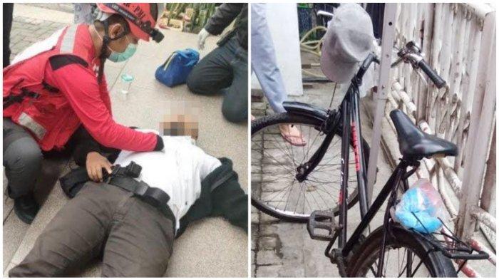 Kecelakaan Maut Pukul 06.30 WIB, Seorang Pesepeda Tewas, Korban Tertabrak Motor saat Menyebrang