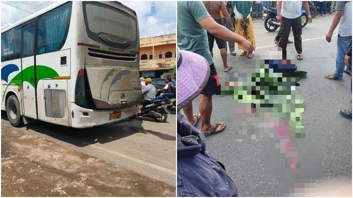 Kecelakaan Maut Pukul 10.00 WIB, Seorang Gadis Pelajar Tewas Mengenaskan Terlindas Bus Bintang Trans