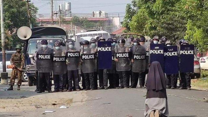 Pengakuan Polisi Myanmar, Diperintah Tembak & Siksa Demonstran: Saya Tak Bisa Tembak Bangsa Sendiri