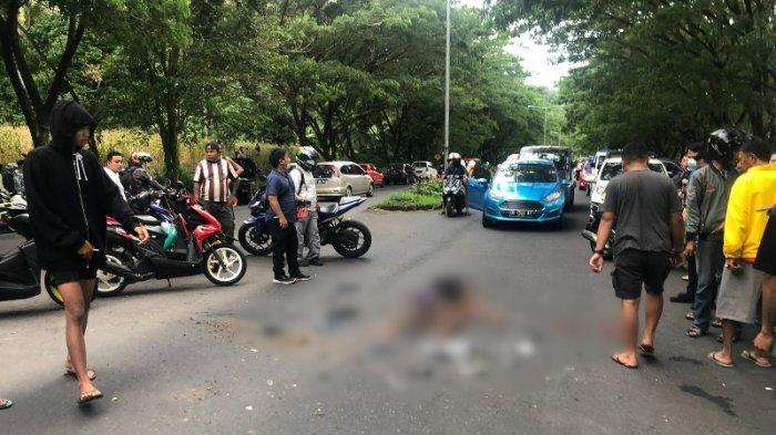 BREAKING NEWS, Remaja Wanita Alami Tabrakan di Jalan Sukarno Minut, Kondisi Kritis