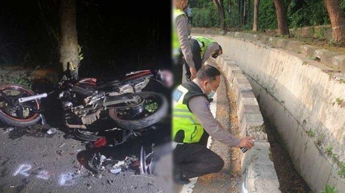 Youtuber Prank dan Horor Tewas, Alami Kecelakaan Tunggal, Tubuh Korban Terlempar dan Masuk Selokan