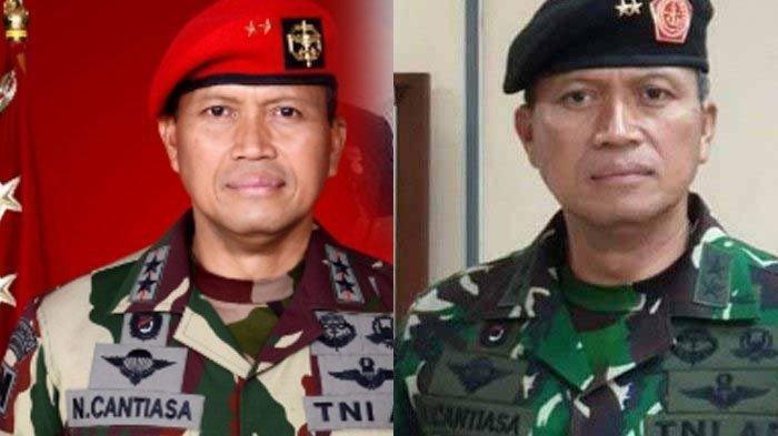 Sepak Terjang Eks Danjen Kopassus Mayjen TNI I Nyoman Cantiasa, Kini Jabat Pangdam Kasuari