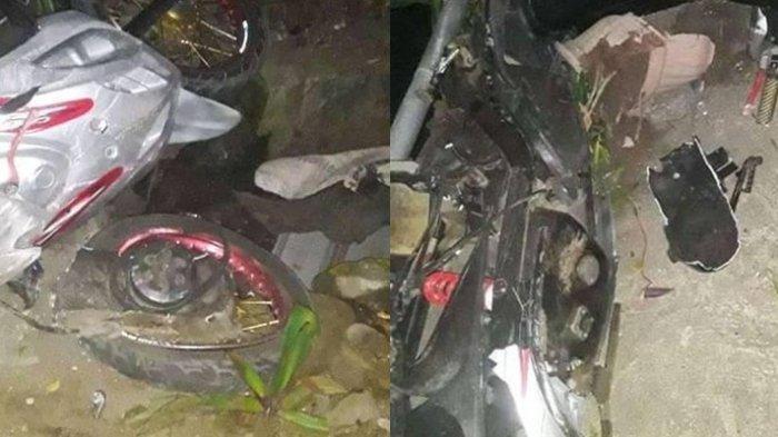 Kecelakaan Maut, Mobil Plat Merah DB 12 E Tabrak Sepeda Motor Mio, Naufa Bocah 4 Tahun Tewas
