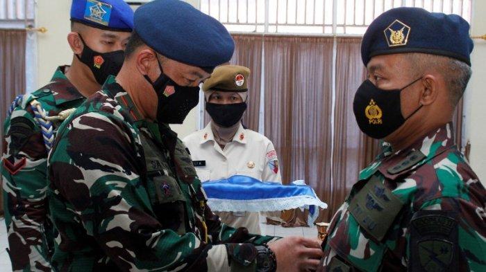 Marsma TNI Satriyo Utomo Pimpinan Sertijab Kepala Dinas Personel Lanud Sam Ratulangi Manado