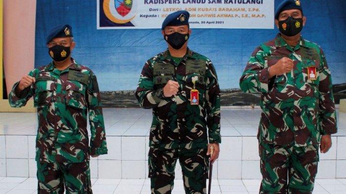 Serah terima jabatan Kepala Dinas Personel Lanud Sam Ratulangi Manado dipimpin Danlanudsri, Marsma TNI M. Satriyo Utomo, Jumat (30/04/2021).