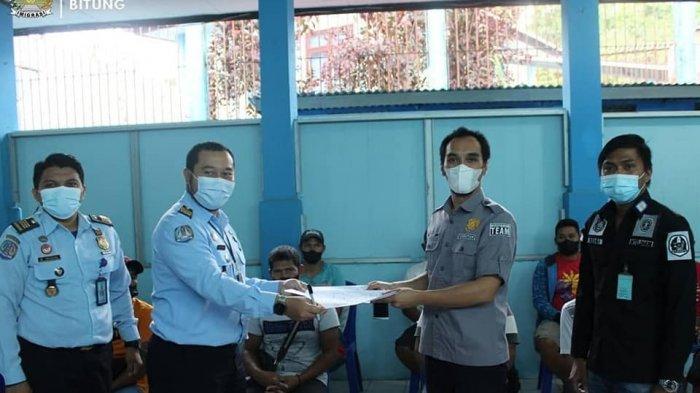 16 Orang Tahanan Imigrasi Bitung Dipindahkan ke Rumah Detensi Manado