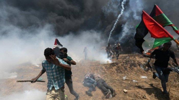 Serangan Israel Semakin Brutal Bombardir Tanah Palestina, Demo di Penjuru Eropa Pecah