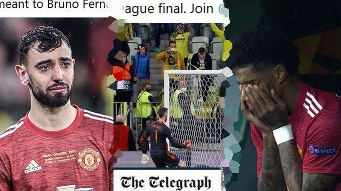 Serba-serbi Kekalahan Manchester United, Gagal Penalti, Rashford & Bruno Nangis, Ruang Ganti Membisu