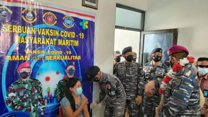 Vaksinasi Covid-19 Terus Dikebut untuk Warga Perbatasan di Talaud