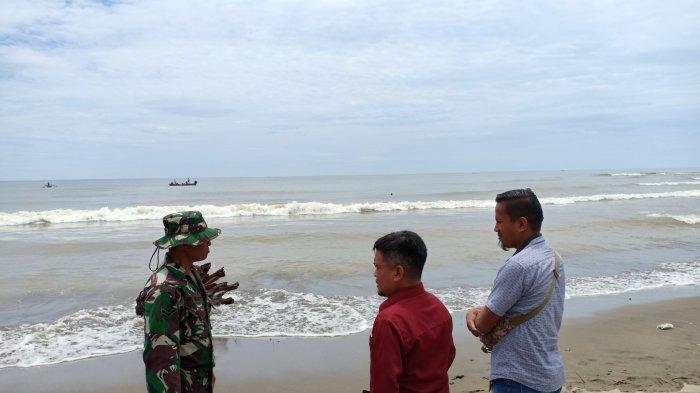 Serda Aris Manto Bantu Pencarian Korban Hanyut di Desa Ayong
