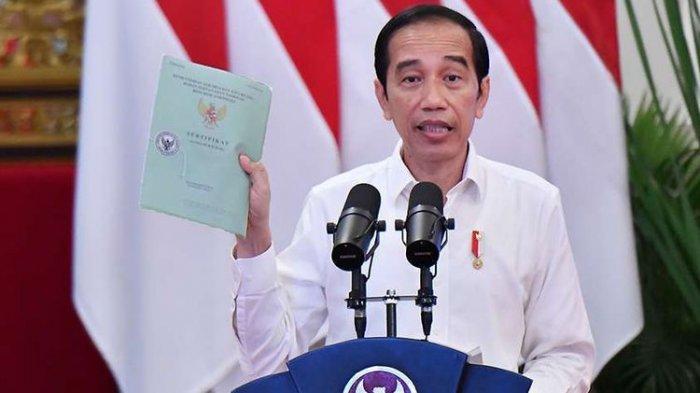 Kebijakan Pemerintahan Jokowi, Semua Sertifikat Tanah Asli Milik Warga Bakal Ditarik