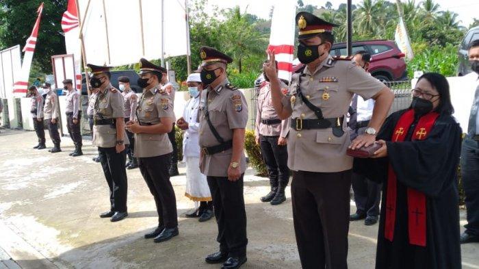 Dua Perwira di Polres Bolmong Resmi Berpindah Tugas