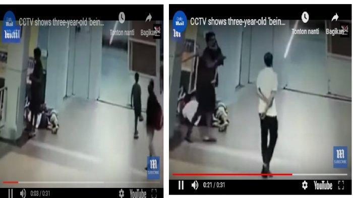 Setelah 'DISUNTIK', Kepala Bocah 3 Tahun Dipenggal 2 Pria Dewasa, Lihat Videonya Saat Dia Digendong!