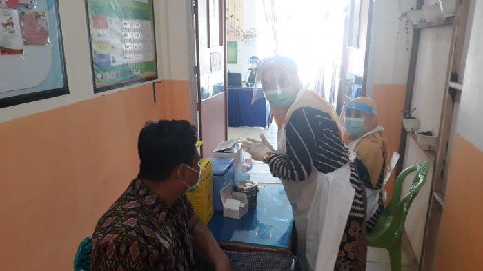 Setelah Terima Vaksin, Puskesmas Bintauna Langsung Gelar Simulasi Vaksinasi Covid-19