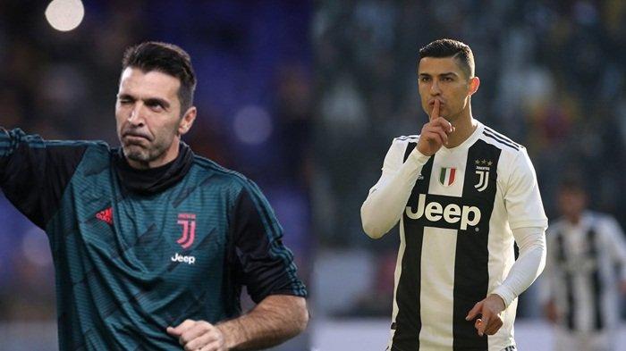Setiap Hari Gianluigi Buffon Dapat Pencerahan dari Cristiano Ronaldo