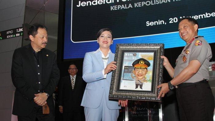 Sharing Bersama KSEI, Kapolri: Stabilitas Keamanan Jaminan Pertumbuhan Ekonomi Indonesia